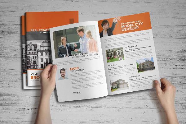 real estate brochure indesign1