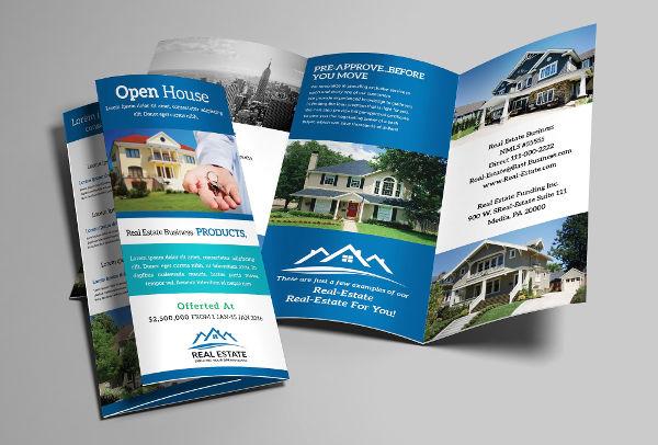 real estate company profile brochure