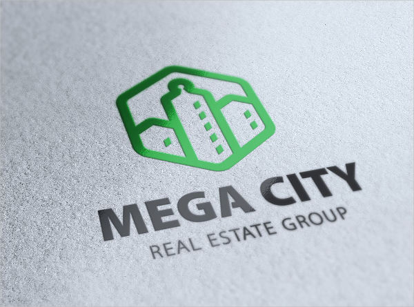 real estate construction company logo