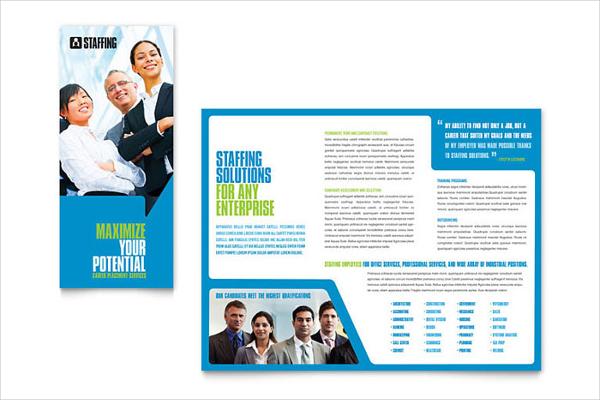 recruitment agency service brochure