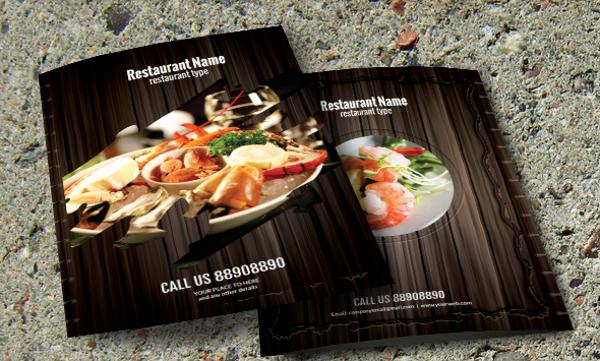 restaurant bi fold