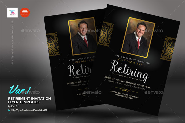 10+ Retirement Party Invitations - Free PSD, PNG, Vector ...