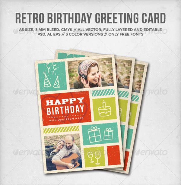 retro birthday greeting card1