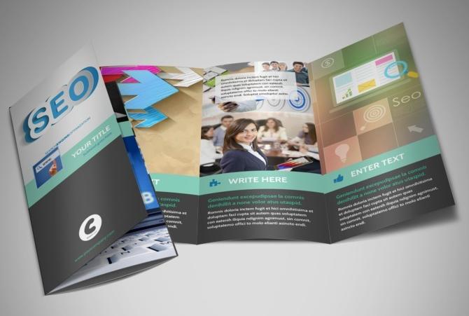 seo service brochure template