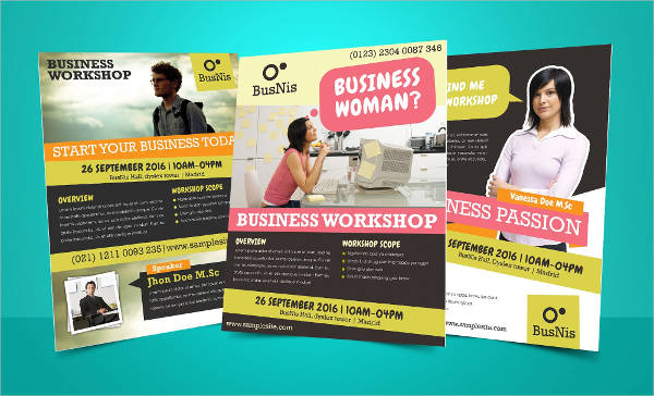 sample business invitation flyer