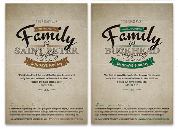 sample church invitation flyer2