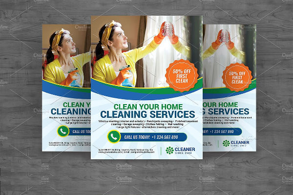 sample cleaning business flyer1