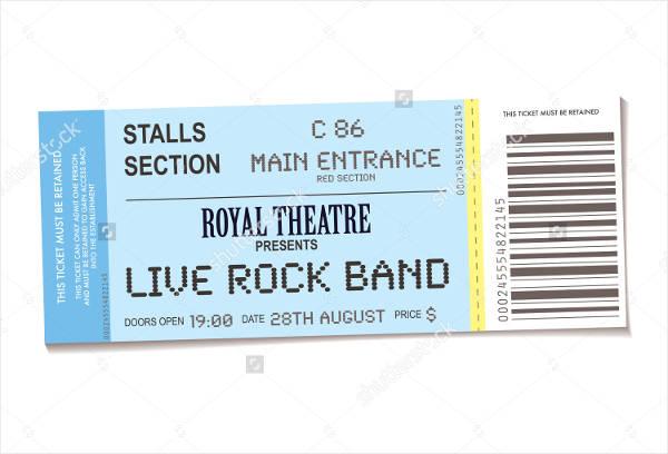 sample concert ticket template1