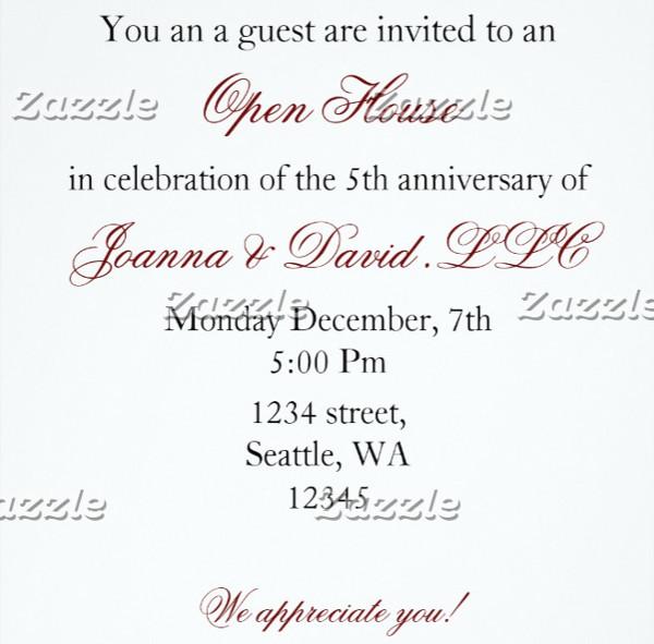 sample corporate party invitation