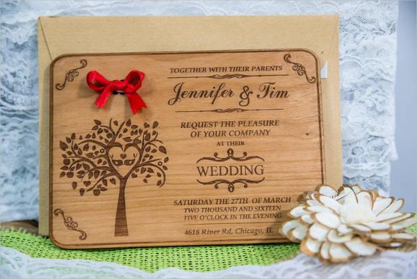 sample handmade wedding day card