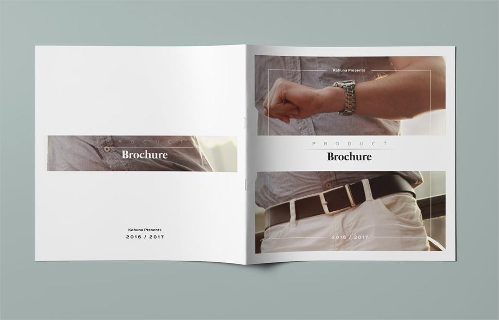 sample product brochure