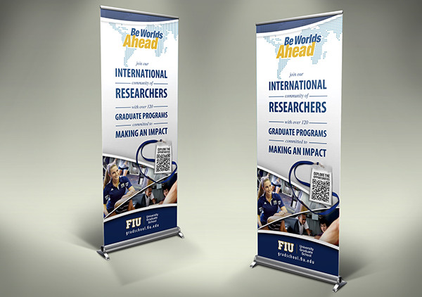 school recruitment banner design
