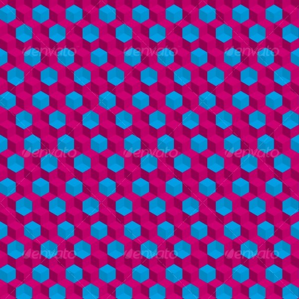 seamless trippy pattern