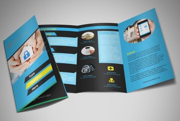 security service company brochure
