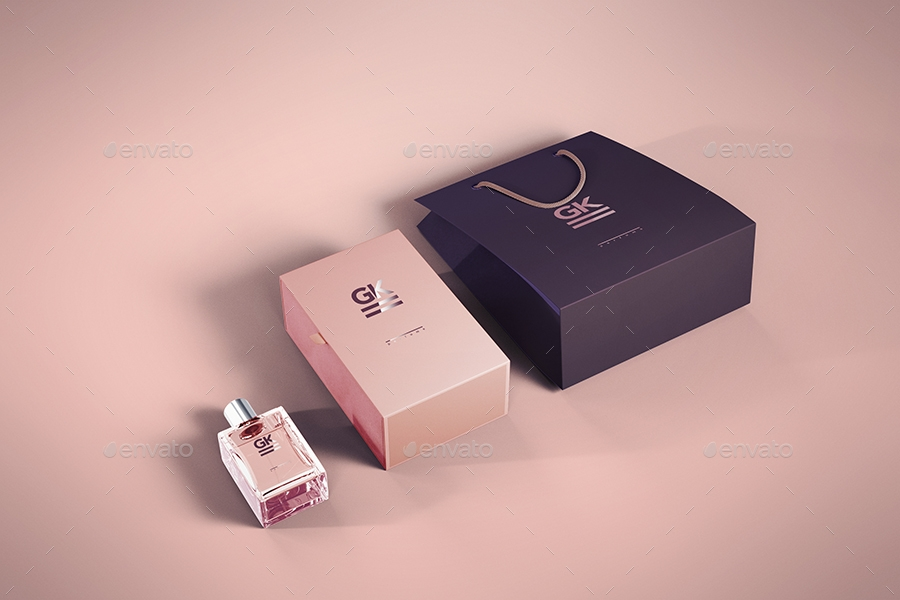 small perfume packaging