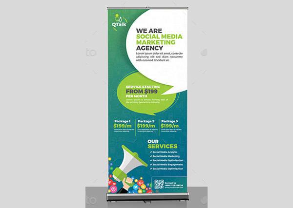 social media marketing roll up banner1