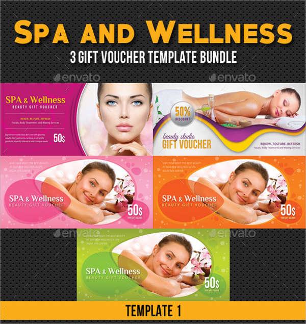spa wellness beauty gift voucher