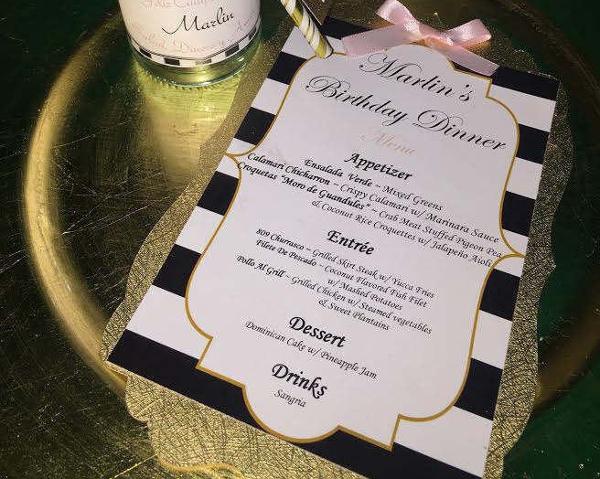 special event dinner menu1