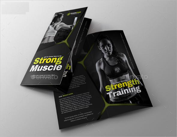 sports activity brochure