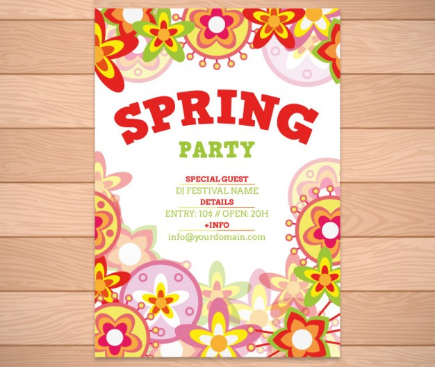 spring event invitation flyer1