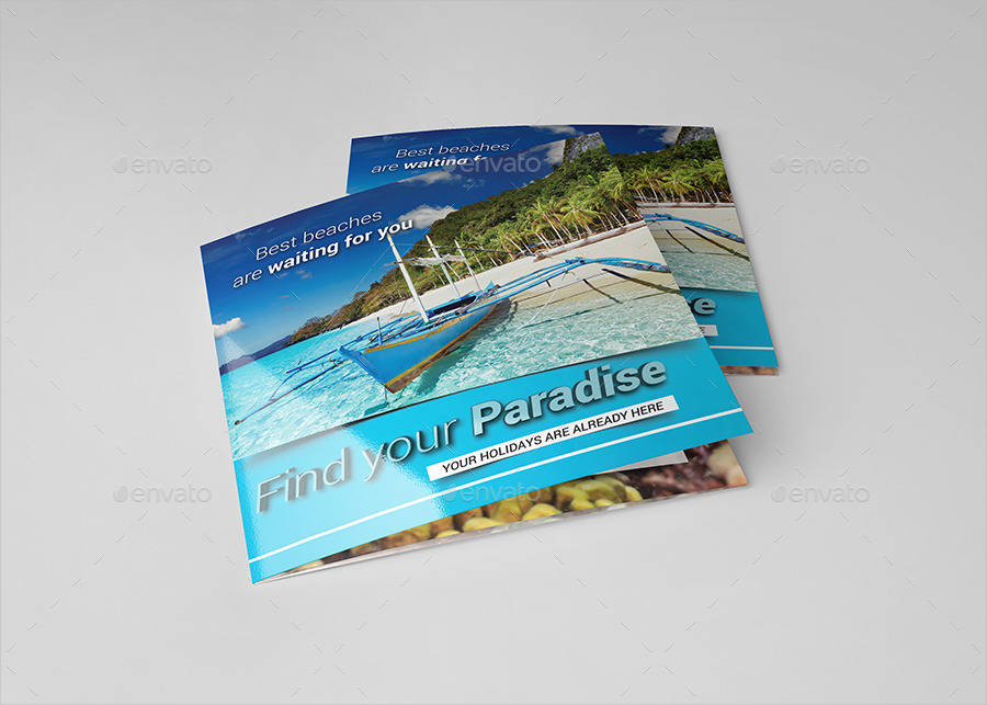 square travel holiday brochure