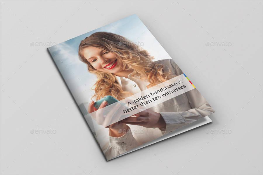strategic bi fold brochure