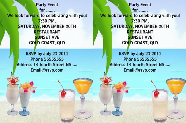 summer beach party invitation2