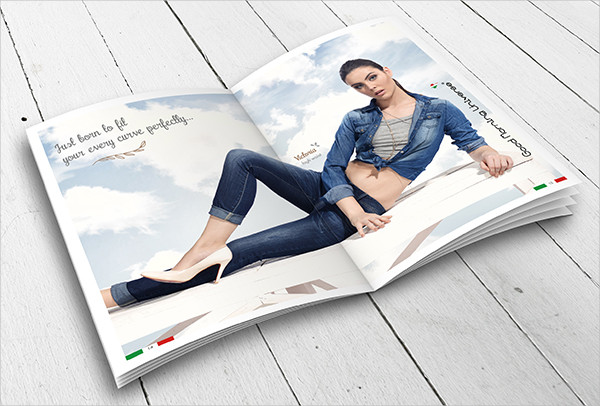 summer fashion brochure
