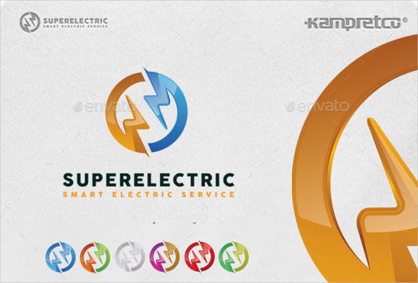 super electrical logo template1