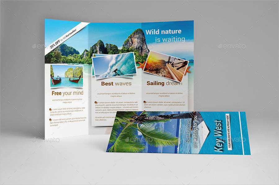 travel holiday brochure
