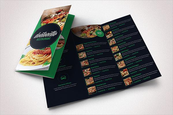 tri fold restaurant