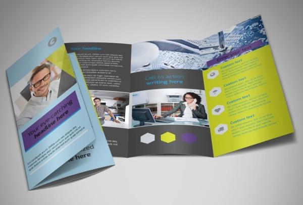 32 service brochure templates for Computer brochure templates