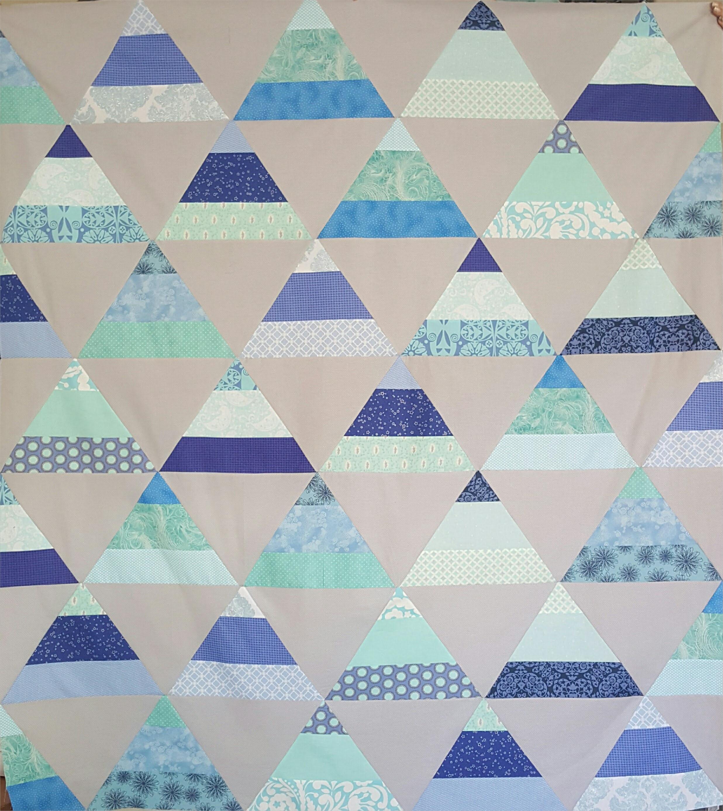 trippy quilt pattern