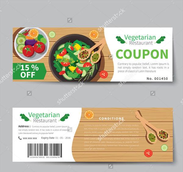 vegetarian food discount voucher