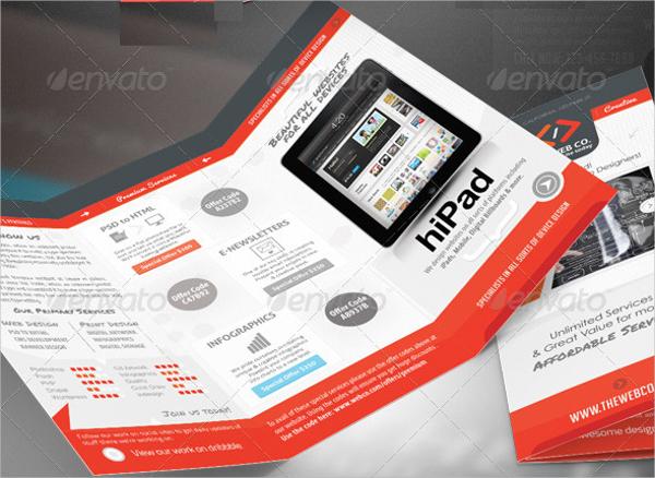 web service business brochure