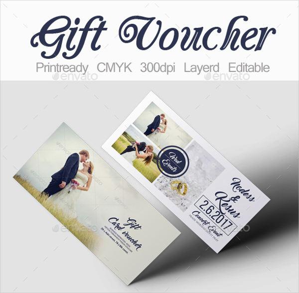 Honeymoon Vouchers As Wedding Gifts: 39+ Voucher Designs