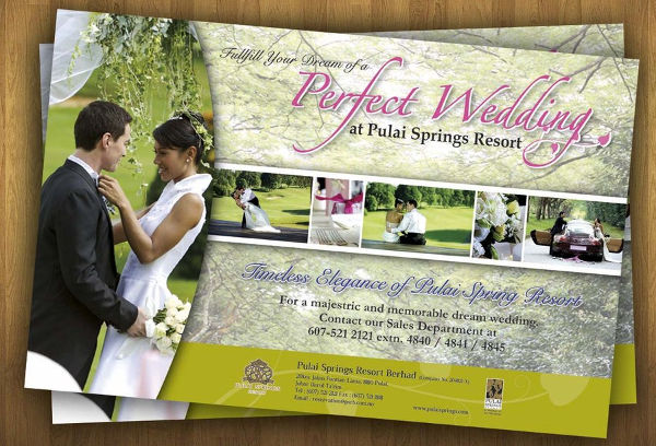 wedding planner invitation flyer
