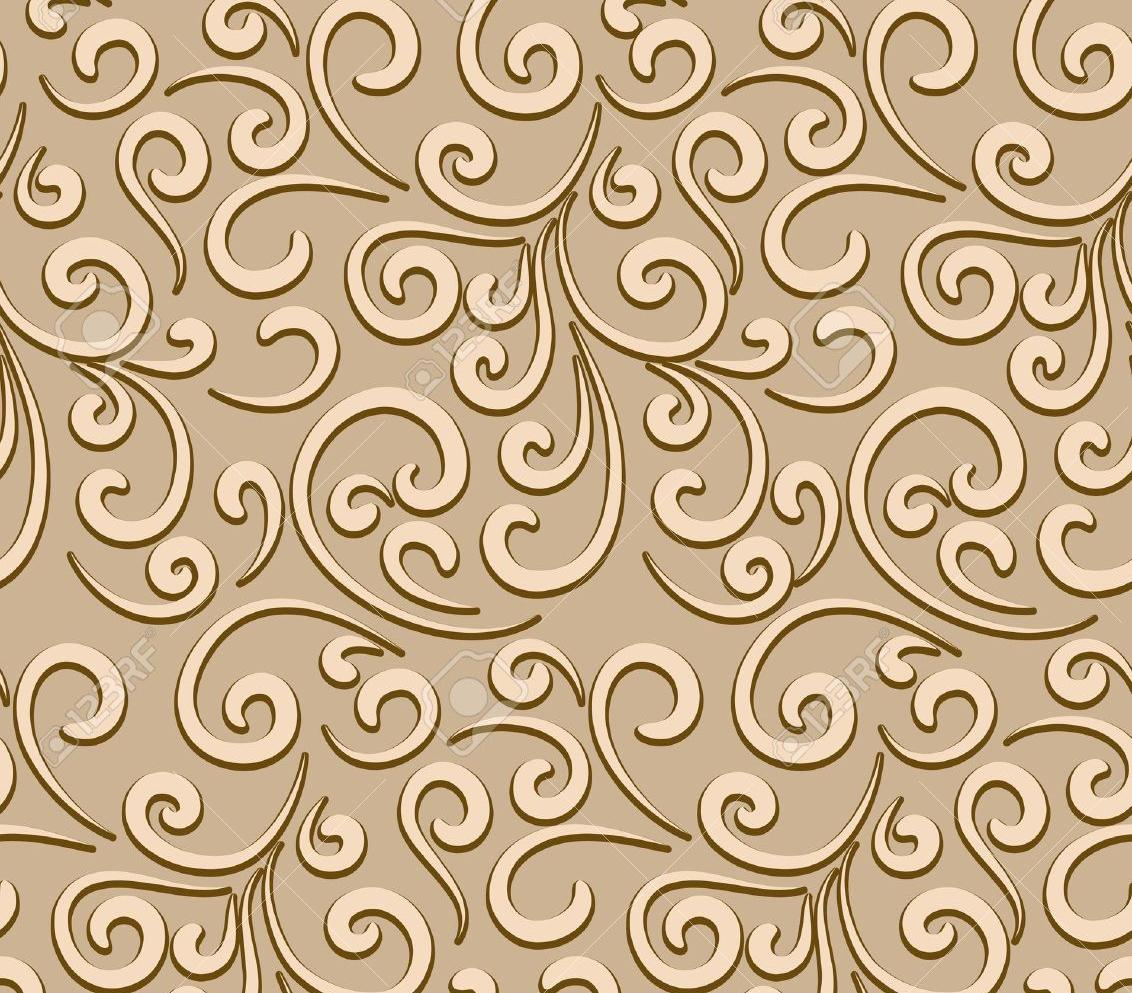 abstract seamless swirl pattern