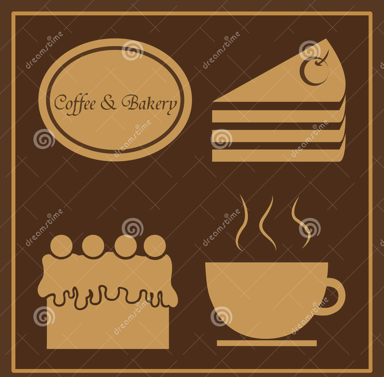 coffee bakery template