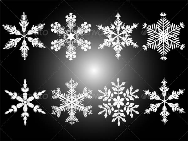 cool snowflake pattern