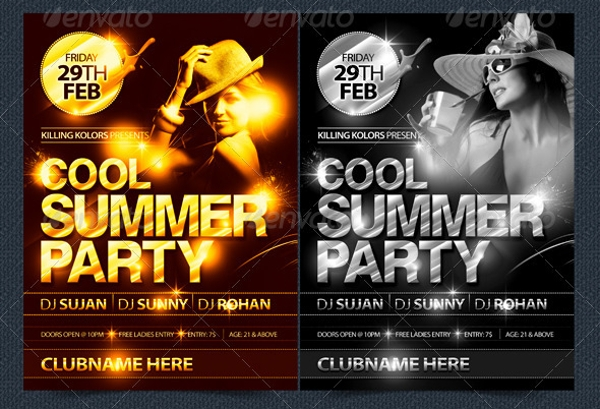 cool summer party