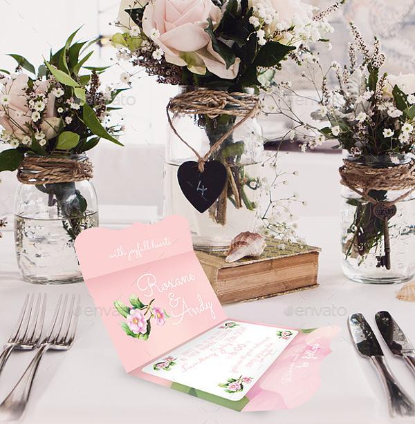 creative wedding envelope