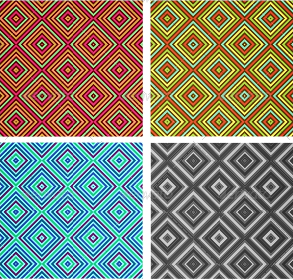 diamond stripes pattern1