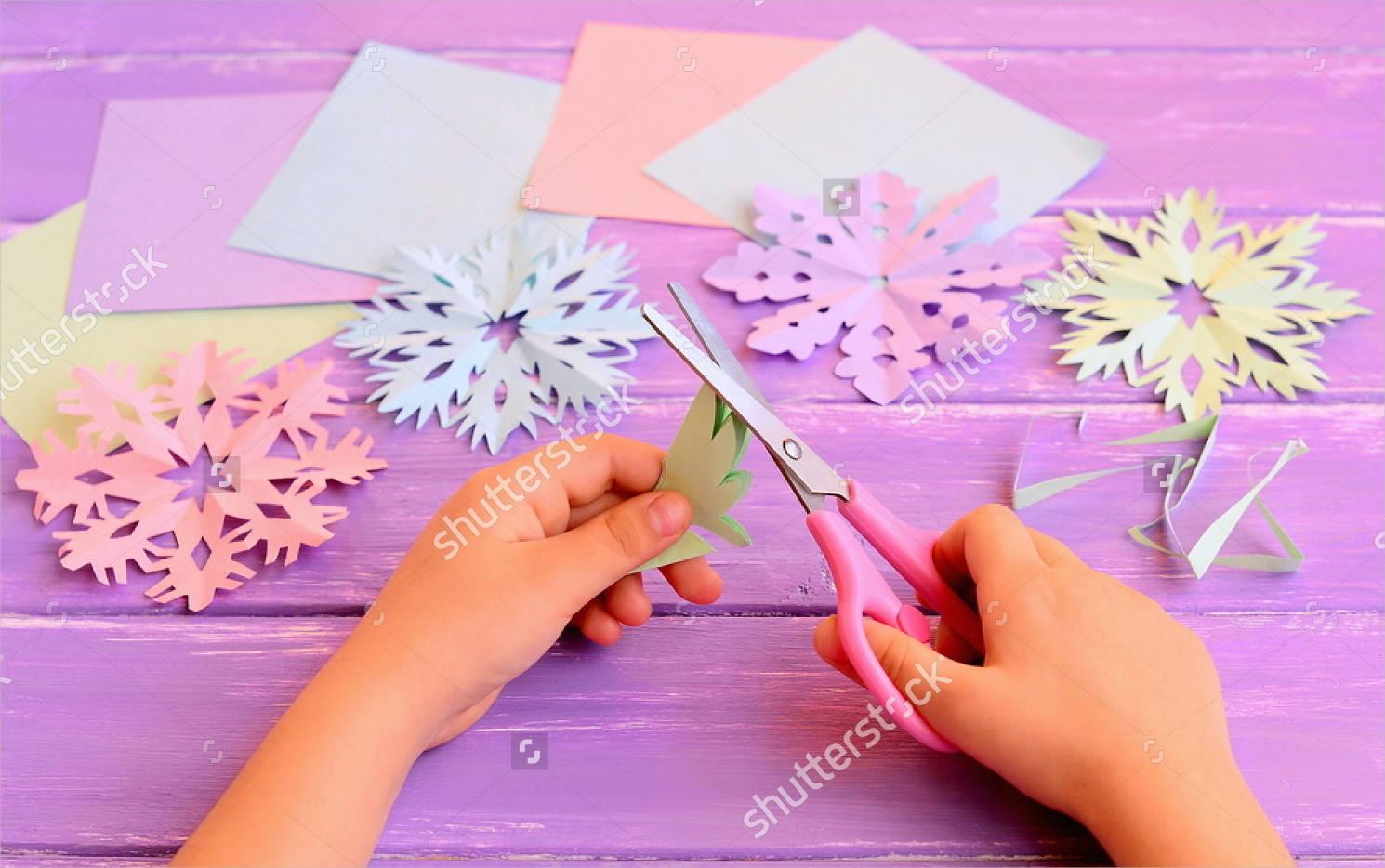 diy snowflake pattern