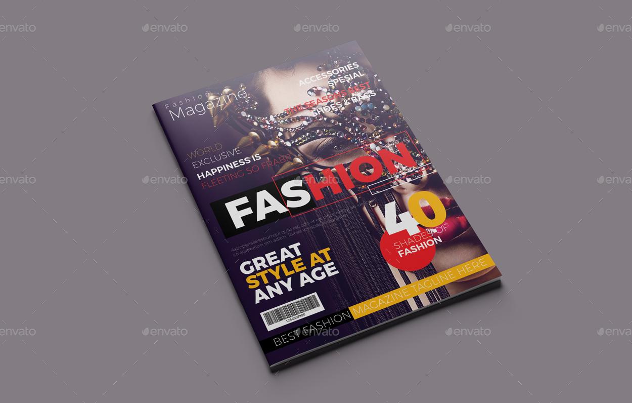 fashion magazine typography