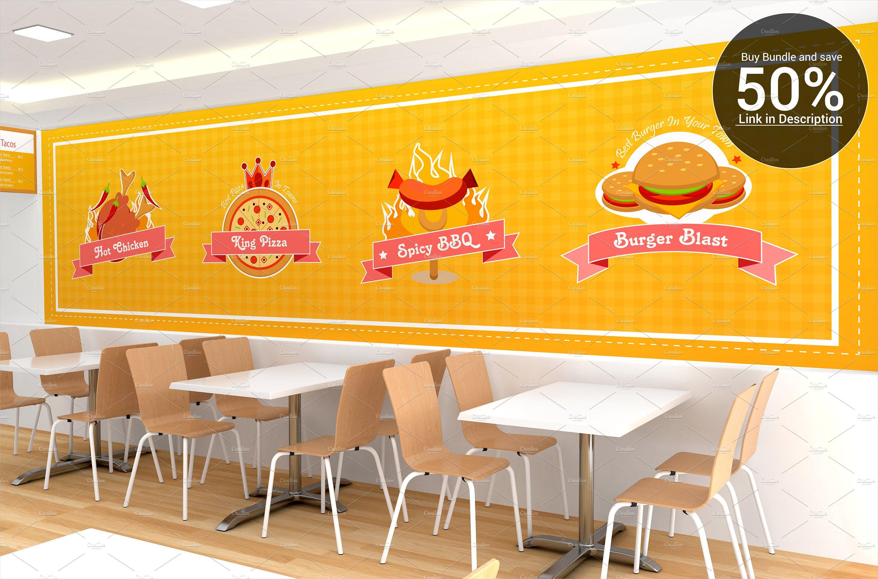 fast food billboard