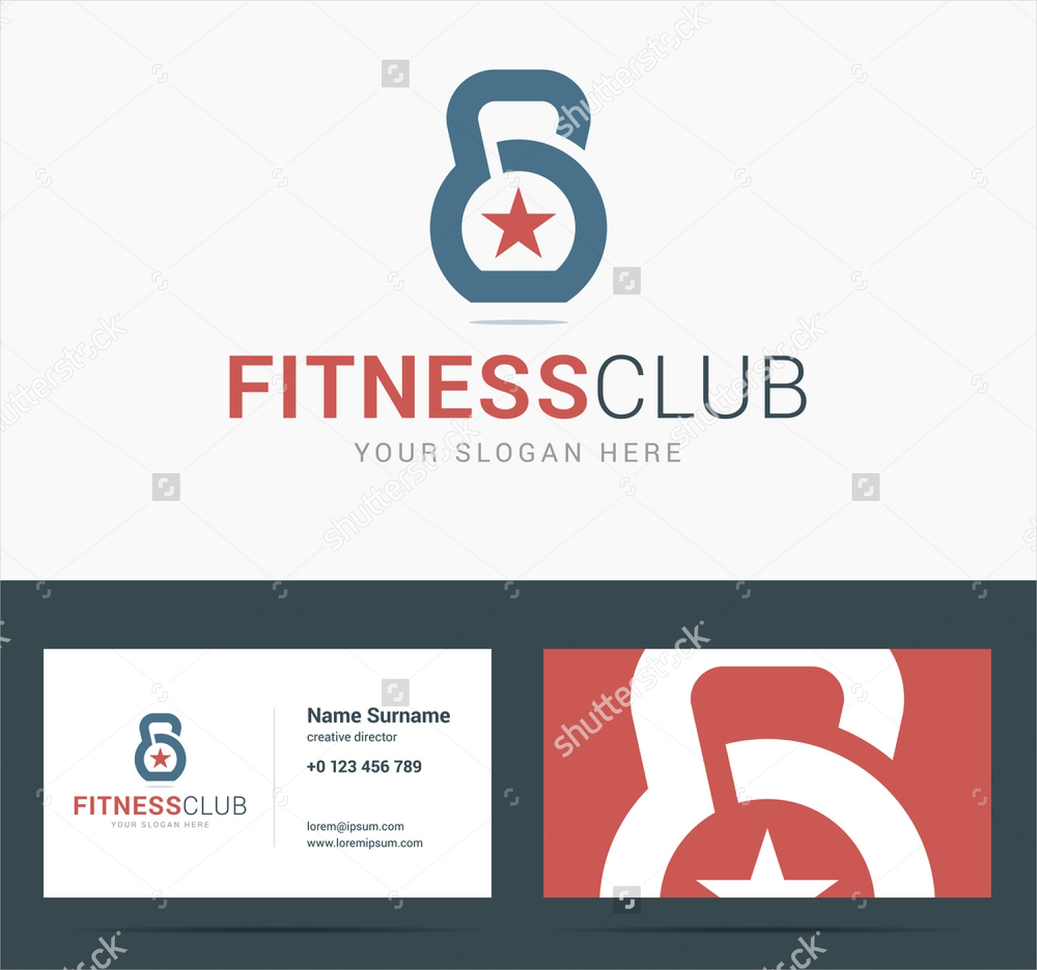 fitness business logo