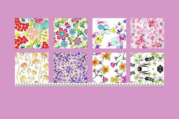 floral pattern photoshop