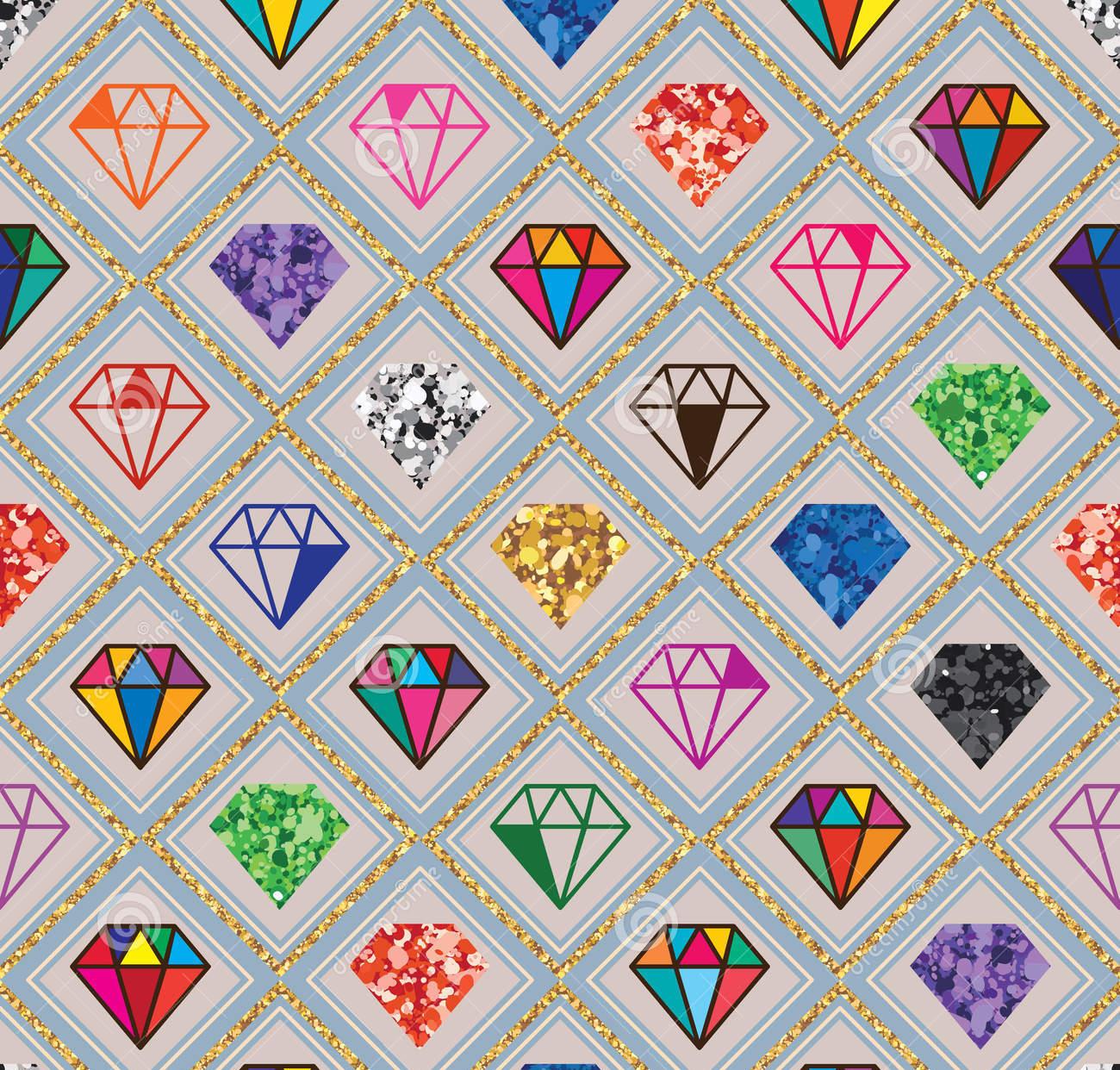 glitter style and pattern
