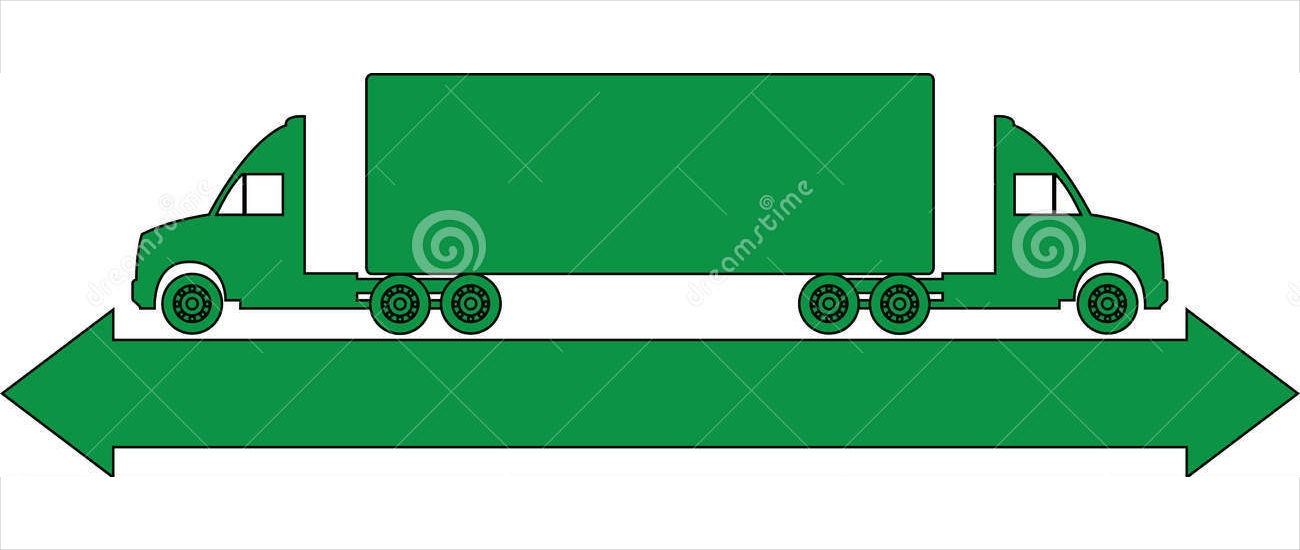 green truck logo